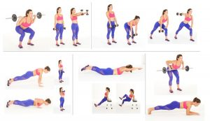 Training plan for a circuit training