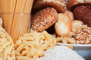 All types of carbohydrates (or simply called carbs)