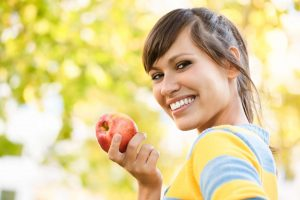 Apples contain a lot of Fructose