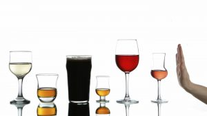 Drinking less alcohol has many positive effects on our body