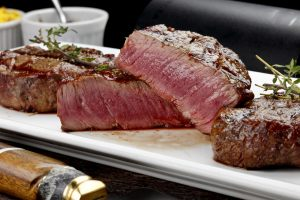Beef contains a lot of high quality animal protein for muscle building