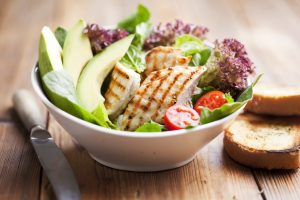 High quality proteins, complex carbs and healthy fats