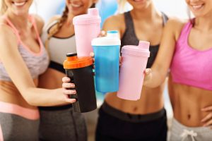 Protein shakes, paired with a healthy diet and exercise, can help women to achieve their goals