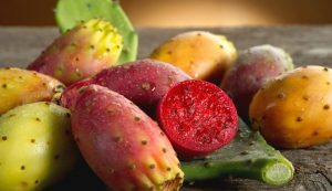 Exotic: With 37 calories, the prickly pear lands in fifth place.