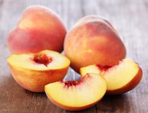 A sweet vitamin supplier: peach.