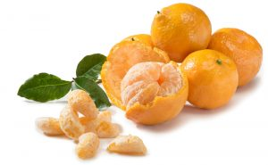 The best alternative to Christmas candies: Tangerine.